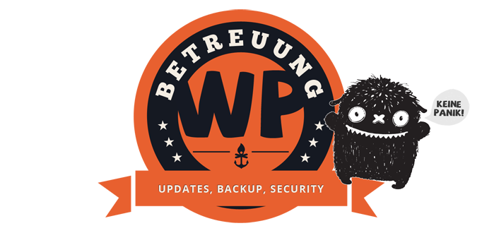 WordPress Betreuung - Updates, Backup, Security